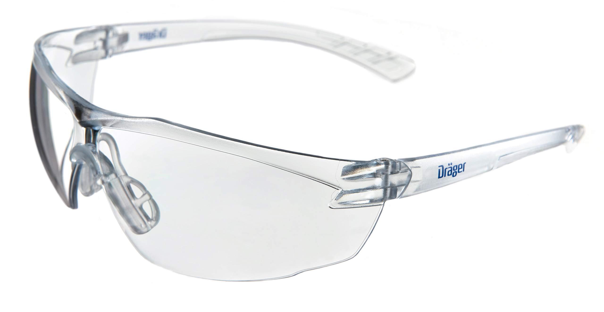 Dräger X-pect 8320 - Gafas de seguridad | Lentes de protección rayos UV antivaho