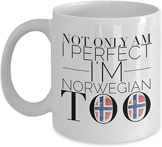 Norwegian Norway Scandinavian Funny Gift Idea Tumbler Travel Mug Perfect