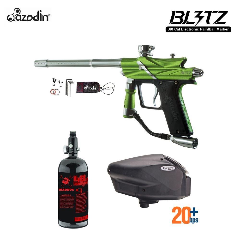 MAddog Azodin Blitz 3 HPA Paintball Gun Package - Green by Maddog
