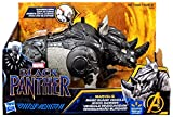 toys tortugas ninja - Marvel Black Panther Rhino Guard Vehicle with Charging horn action | Compatible with 6 inch action figures