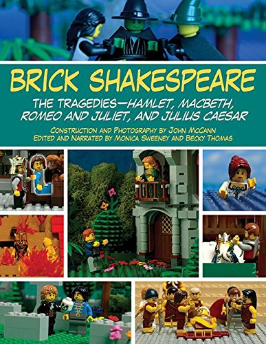 Brick Shakespeare: The Tragedies-Hamlet, Macbeth, Romeo and Juliet, and Julius Caesar by Skyhorse Publishing
