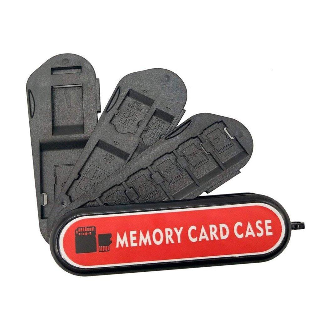 Estuche para tarjetas de memoria, soporte de tarjeta de ...