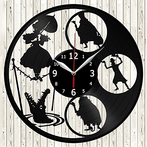 Haunted Mansion Clock - Haunted Mansion Vinyl Record Wall Clock Decor Handmade Unique Original Gift