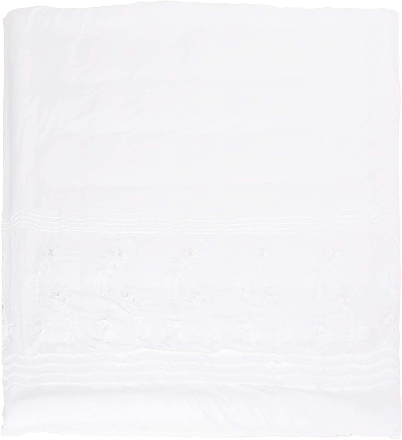 Christopher Knight Home 309037 Zoey Queen Size Fabric Duvet, White
