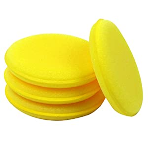 12x Waxing Polish Wax Foam Sponge For Clean Cars Vehicle Glass