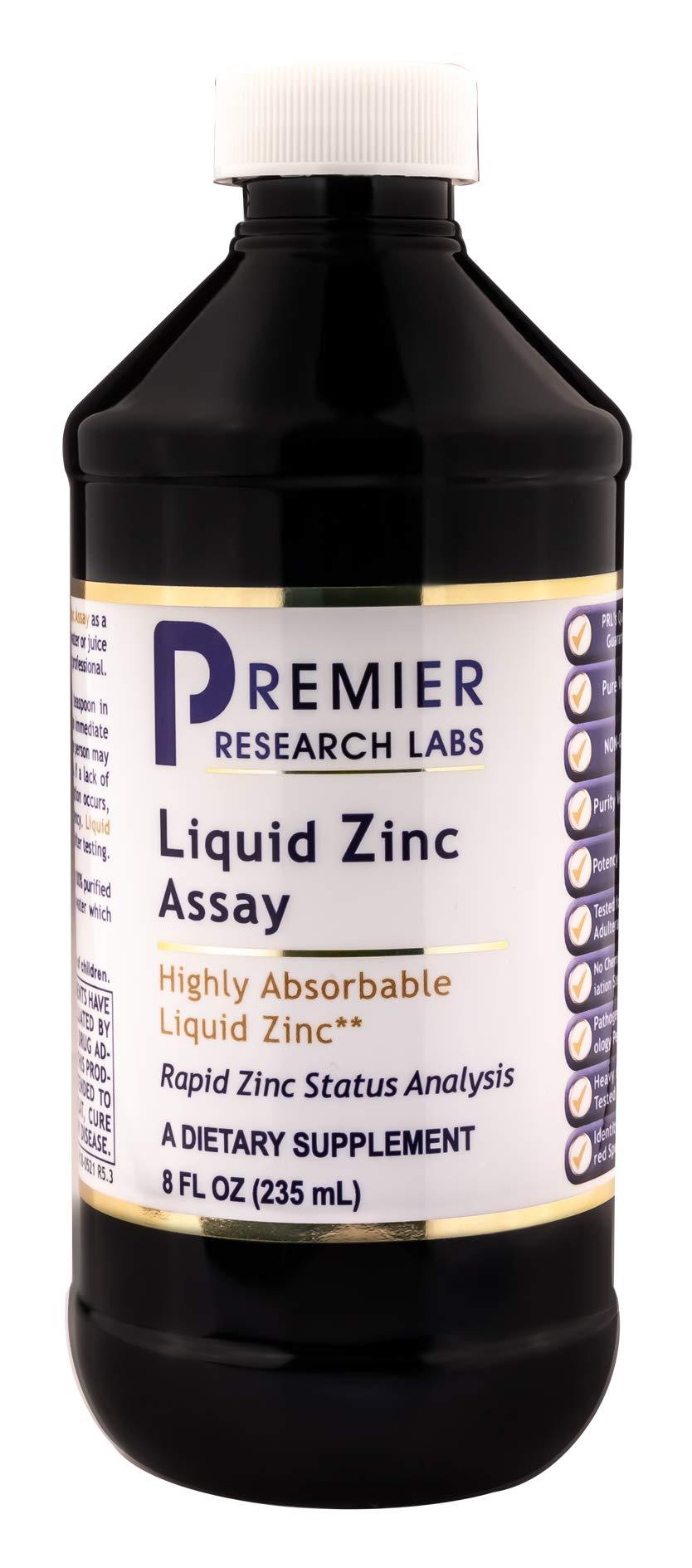 Premier Research Labs Liquid Zinc Assay (8 Ounce - 235 Milliliter)