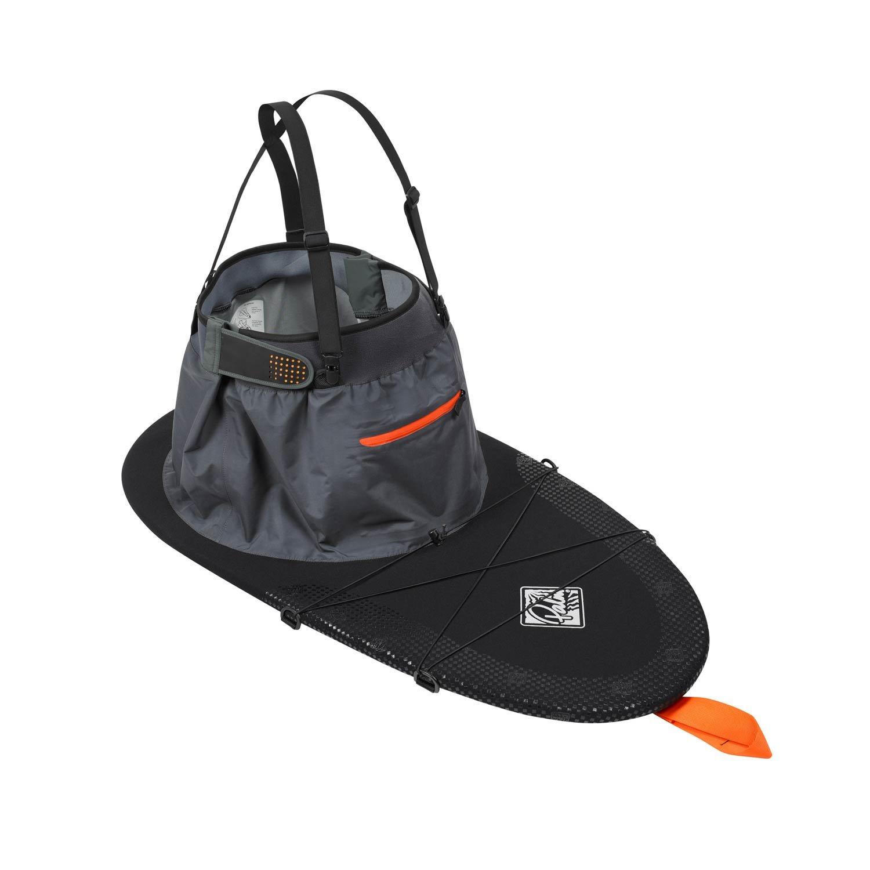 Black Baosity Universal Kayak Cockpit Cover Seal Protector for Outdoor//Indoor Transport//Storage M