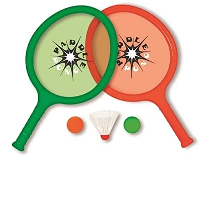 Swimline Paddle Pong Pool Game Set, Red/Green: Toys & Games