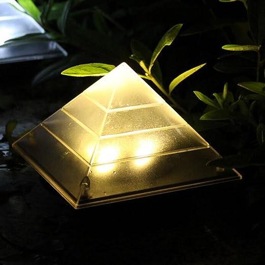 FLAMEER Impermeabilice La Energía Solar LED Escalera Muelle Luz Entrada 2 Colores - Blanco cálido, como se Describe: Amazon.es: Jardín