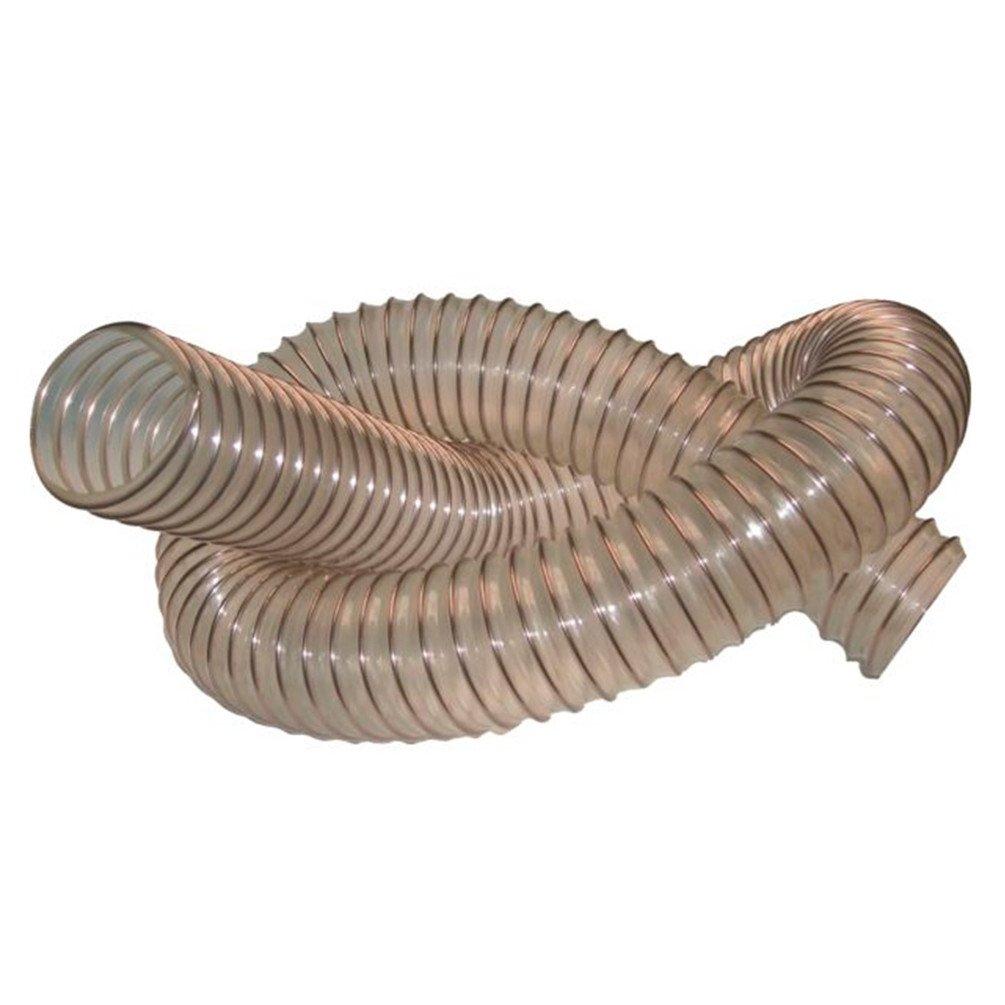 Diamwood - 10 M de tuyau flexible d'aspiration bois D. 100 mm spire acier cuivré PU 0, 4 mm - DW-257258003 - Diamwood