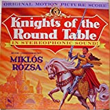 SOUNDTRACK MIKLOS ROZSA KNIGHTS OF THE ROUND TABLE vinyl record