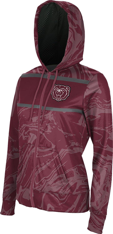 School Spirit Sweatshirt Ripple ProSphere Missouri State University Girls Zipper Hoodie