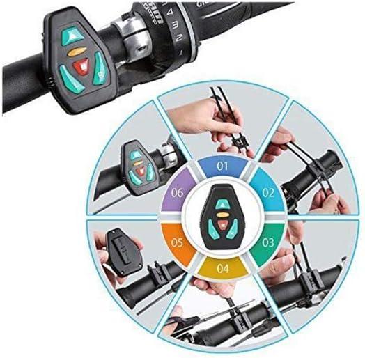 /Étanche Kit Complet Fonctionne avec 2 Pile Bouton C2032 BeWise T/él/écommande Gilet LED Clignotant Cyclisme synchronisation Simple et Efficace Compatible avec Le Gilet et Sac LED