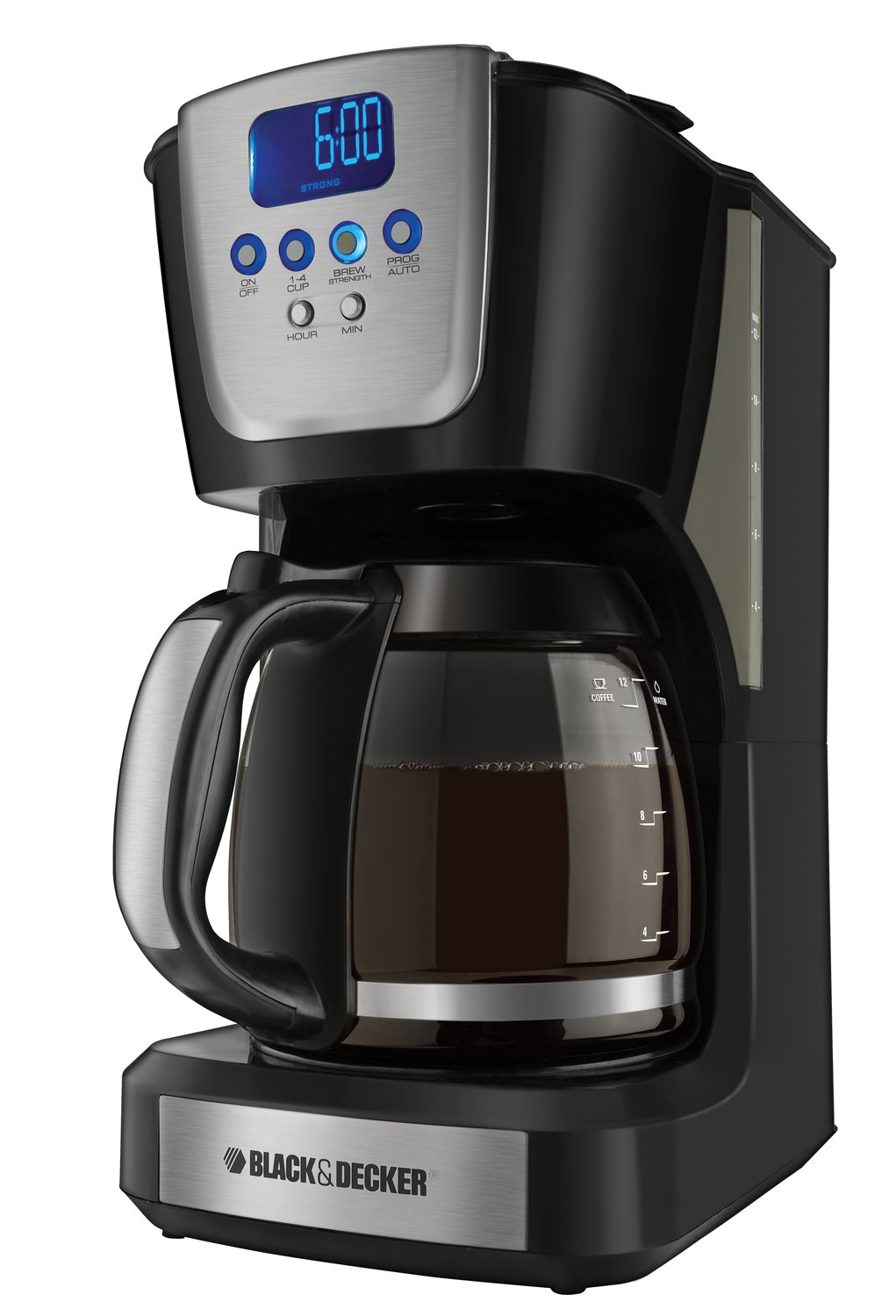 Black and decker coffee maker 12 cup programmable - Amazon Com Black Decker Cm5050 12 Cup Programmable Coffeemaker Drip Coffeemakers Kitchen Dining