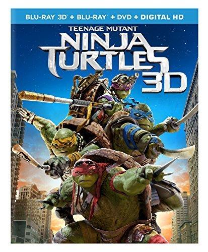 ninja turtles blu ray 3d - 5