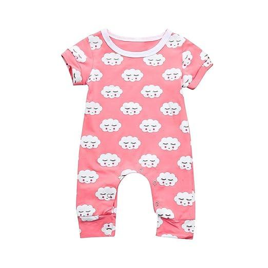 fe99ffc4bd Amazon.com  Pollyhb Baby Girls Boys Romper