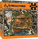 jigsaw puzzle fishing - MasterPieces REALTREE Gone Fishing 1000 Piece Jigsaw Puzzle by Dona Gelsinger