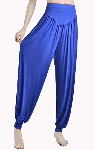 95d23dd485 Women Yoga Pants Plus Size Yoga Leggings colorful Bloomers Dance Yoga  Taichi Full Length Pants Modal