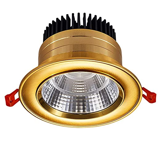 30W 110V 220V Downlight empotrado COB Proyector integrado ...