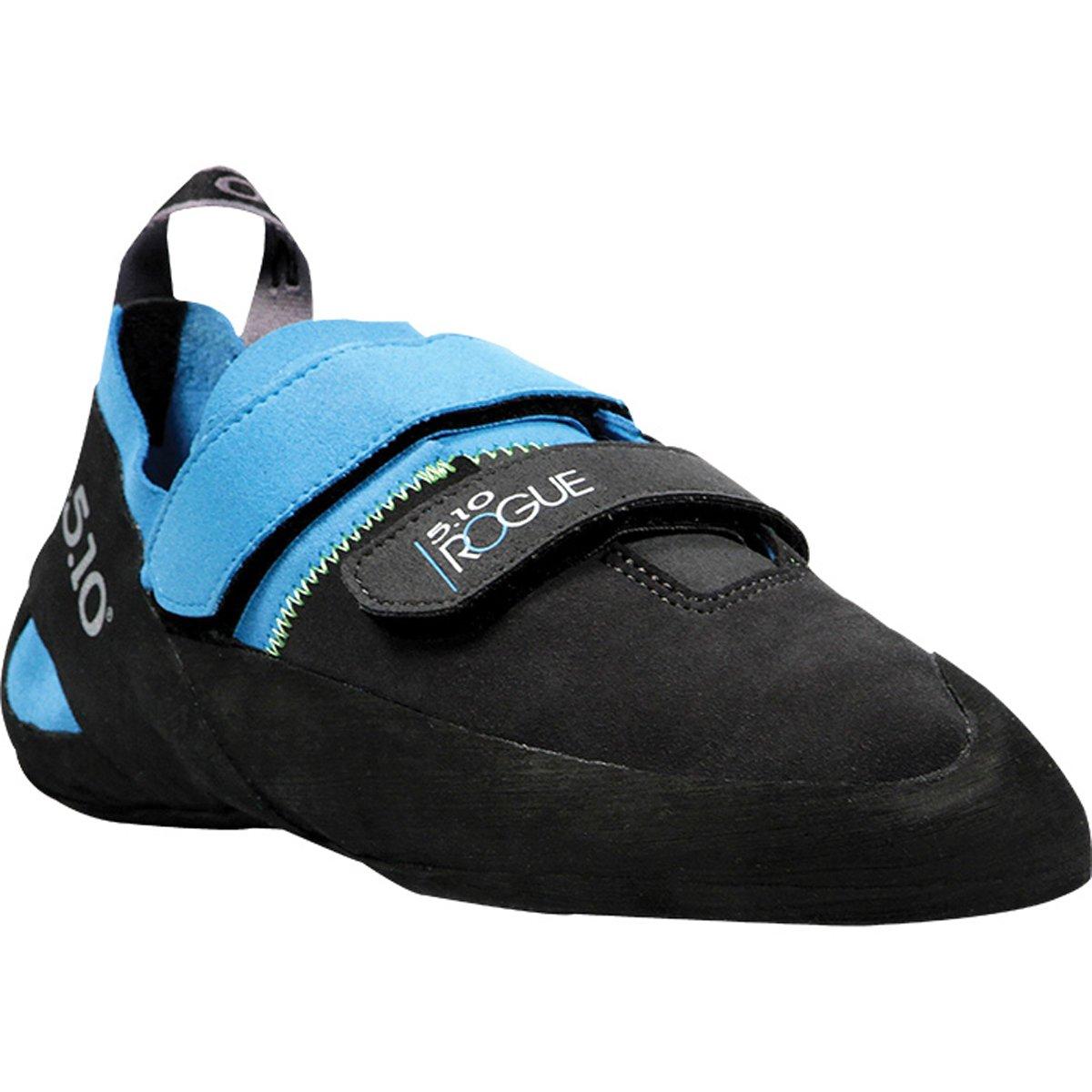 Five Ten Men's Rogue VCS Climbing Shoe,Neon Blue/Charcoal,11.5 M US