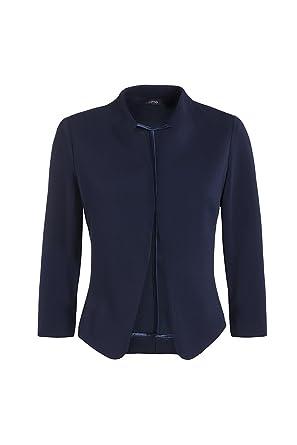 Oltre: chaqueta de tejido stretch, mangas tres cuartos. Azul, talla ...