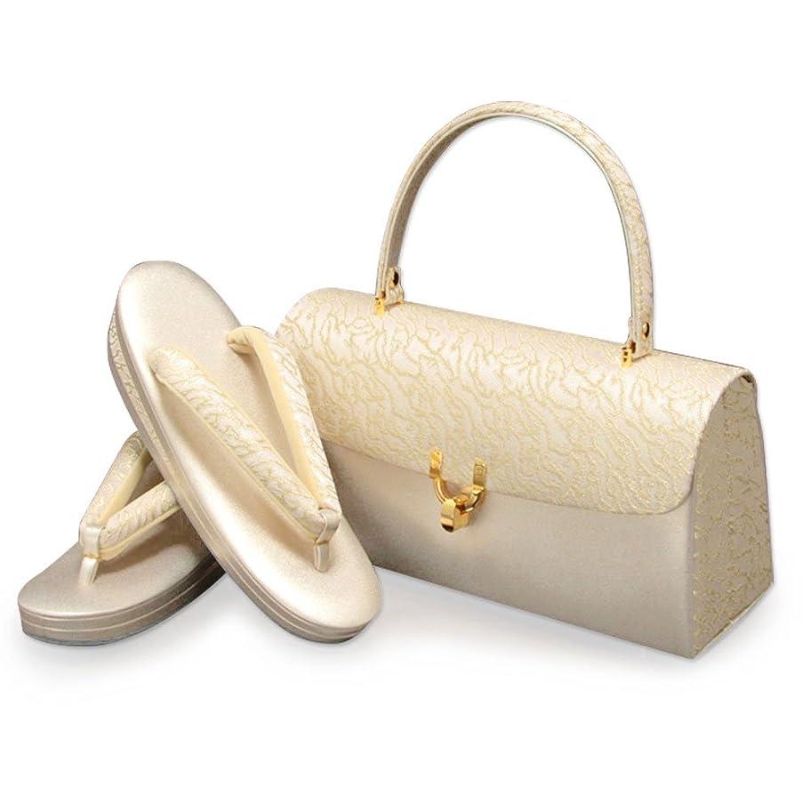 暗くする接続詞買い手(キステ)Kisste 留袖 礼装用 草履バッグセット <ローブデコルテ> 日本製 7-4-03857