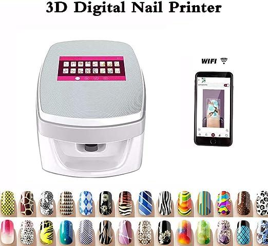 SANTHR Impresoras de uñas 3D Digital Mover Esmalte de uñas Pocos ...