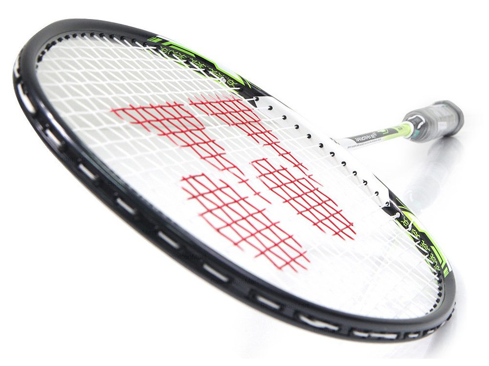 Yonex NANORAY 10F NEW Badminton Racket 2017 Racquet Lime 4U/G5 Pre-strung with a Half-length Cover (NR10F-LIME) by Yonex (Image #2)