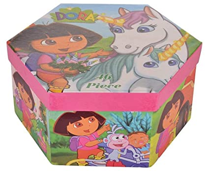 Shopkooky Dora Complete Coloring Box Set 46 Colors Return Gift Birthday Gifts