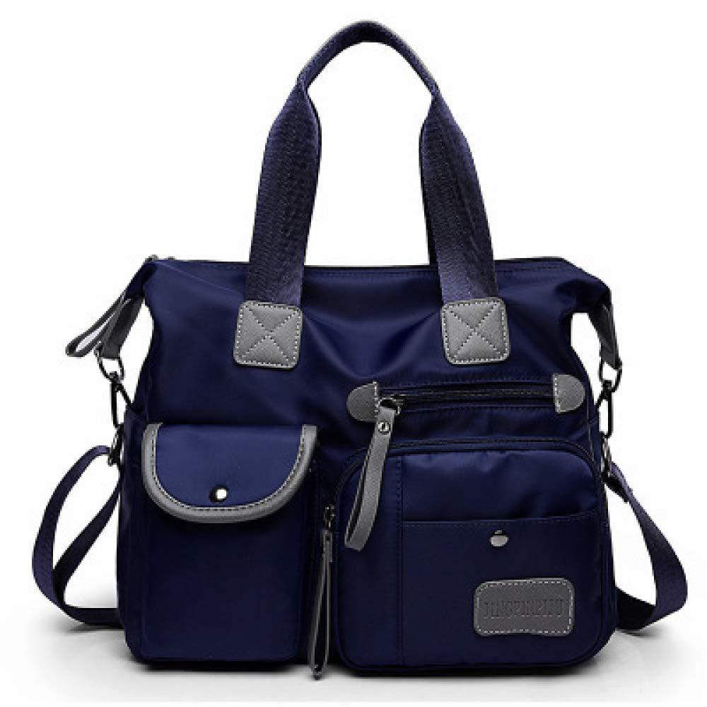 YangTrade ヨーロッパとアメリカのファッションナイロン布婦人用バッグトレンドオックスフォード布機関車パックシンプル大容量ショッピングバッグ M C B07PBL2F94