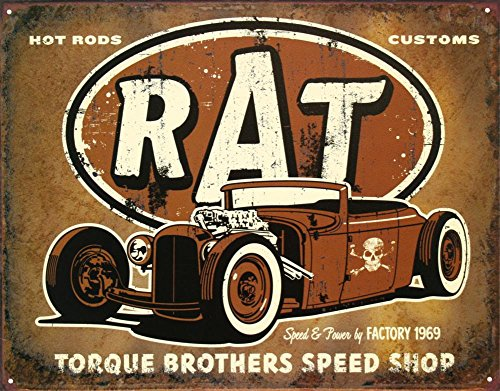 vintage car signs - 3