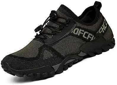 أحذية المشي لمسافات طويلة للرجال والنساء في الهواء الطلق أحذية رياضية غير قابلة للانزلاق مسامية أحذية المشي منخفضة الأعلى في الهواء الطلق الرحلات المشي تسلق السفر خفيفة الوزن