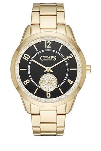 fe8216bcd467 Chaps Kasia tono dorado three-hand reloj de pulsera de mujer (chp3029)