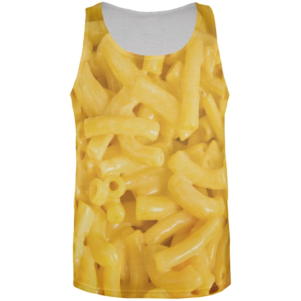 Mac n Cheese All Over Adult Tank Top