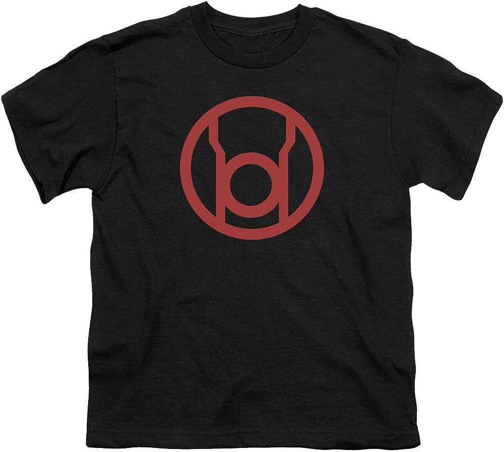 Green Lantern Red Emblem Youth T-Shirt