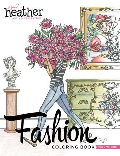 Fashion Coloring Book: Inspired by Everyday Women (Volume 1) by CreateSpace Independent Publishing Platform (Image #1)