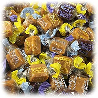 product image for AvenueSweets - Handcrafted Dairy Free Vegan Individually Wrapped Soft Caramels - 3 lb Box - Assorted Flavors