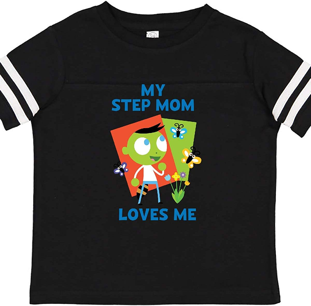 PBS Kids inktastic My Step Mom Loves Me with Del Toddler T-Shirt