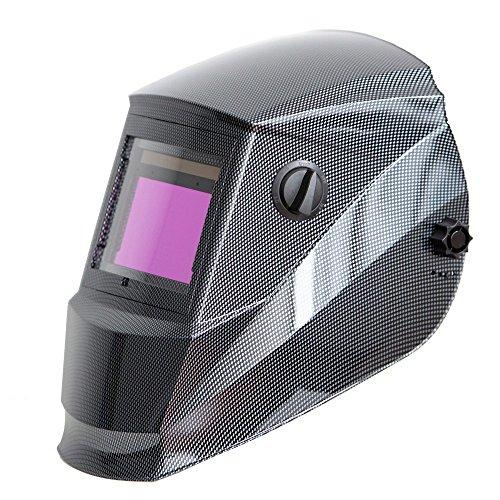 Antra AH6-660-001X Auto Darkening Welding Helmet Large Viewing 3.86X2.50