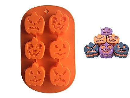 FantasyDay® Stampo in Silicone per Dolci a forma di Halloween Zucca ... d20b390e6ea2