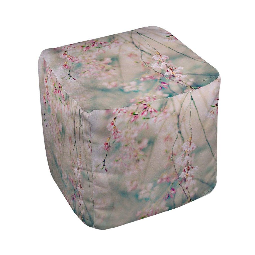 Thumbprintz Weeping Cherry Blossoms Pouf M ピンク 3PF-GEN-FBGN13 B073KXNQG5   Medium