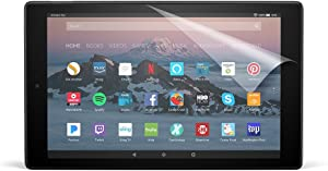 NuPro Anti-Glare Screen Protector for Amazon Fire HD 10 Tablet (7th & 9th Generations - 2017 & 2019 releases) (2-Pack)