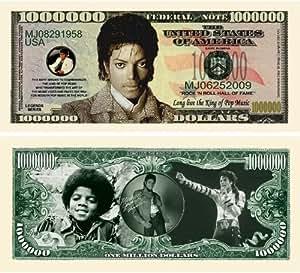 "Amazon.com: Michael Jackson "" King of Pop"" Million Dollar"