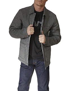Kimes Ranch Western Jacket Mens Button Denim Blue Muleskinner-Coat