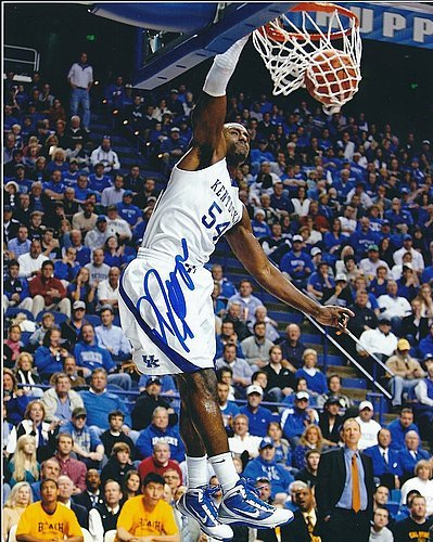Autographs Patterson (Signed Patrick Patterson Kentucky Wildcats 8x10 - Certified Autograph)