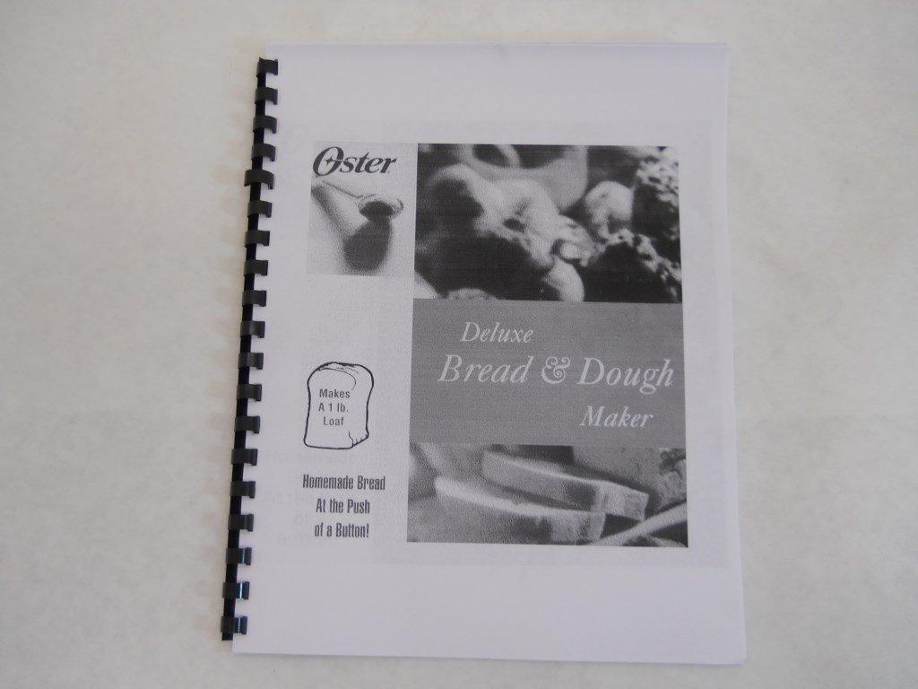 oster bread machine manual model 5839 reprint amazon com books rh amazon com