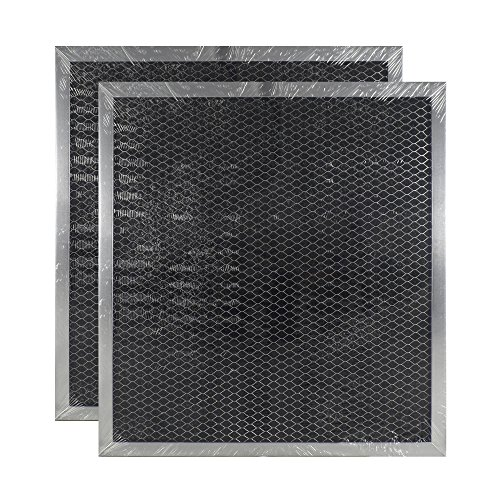 2 PACK Air Filter Factory Compatible Replacement For GE WB2X9760 Range Hood Charcoal Carbon Filter by Air Filter Factory