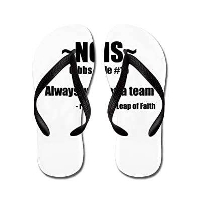 Gibbs Rule 2 - Flip Flops Funny Thong Sandals Beach Sandals