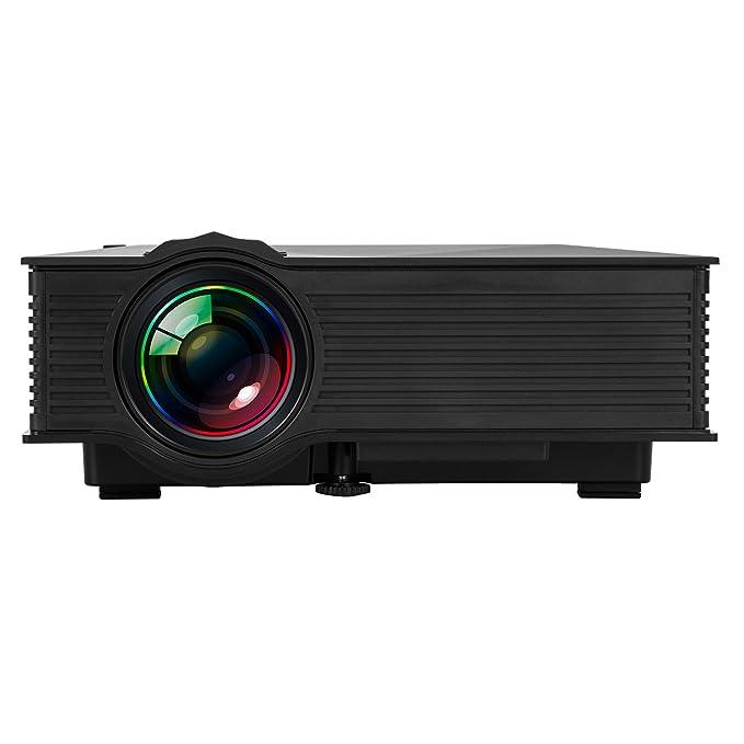 UC46 WIFI Mini Proyector Portátil LCD LED WEINAS® Multimedia USB ...