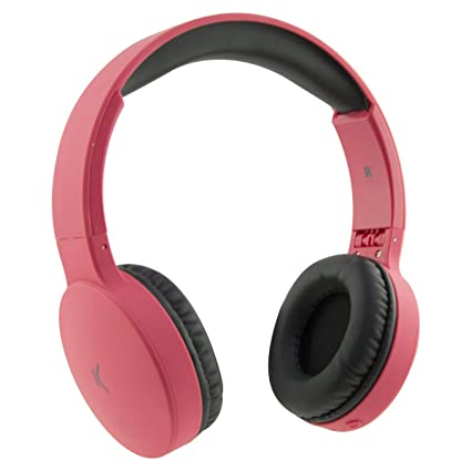 Ksix Go&Play Travel - Auriculares inalámbricos (Plegables, Bluetooth 3.0, micrófono Integrado, Rango